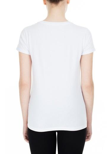 EA7 Emporio Armani  T Shirt Kadın T Shırt S 6Gtt15 Tj12Z 1100 Beyaz